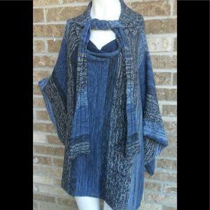 Anthropologie Sparrow knit top / sweater sz M